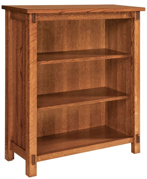 Rio Mission Bookcase  Amish Direct Furniture