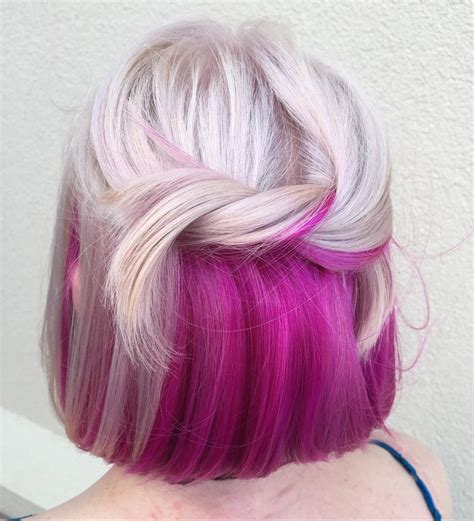 surprise colorful hair dye jobs instylecom