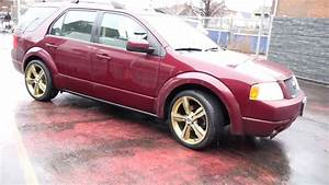 2006 Ford Freestyle With 20 Inch Gold Rims  U0026 Tires