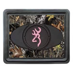 browning pink for rear floor mat just camo