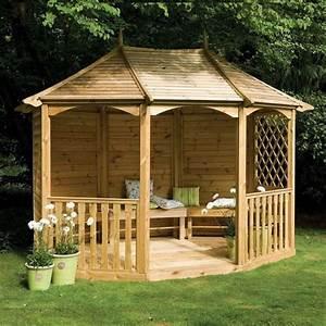 tonnelle de jardin ou pergola quelle abri pour son With tonnelle en bois pour jardin
