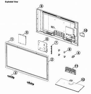 Samsung Model Un40eh6030fxza Lcd Television Genuine Parts