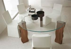 Esstisch Glas Rund : 70 modelle f r couchtisch und esstisch rund freshouse ~ Eleganceandgraceweddings.com Haus und Dekorationen