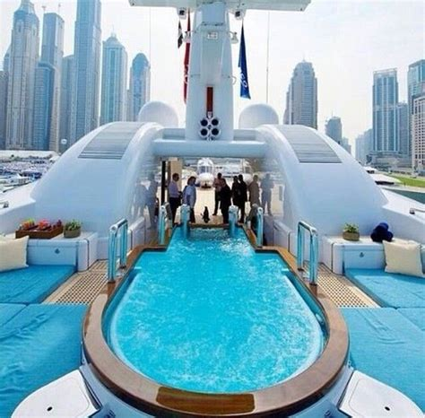 yacht dubai party luxury lifestyle yachts super private boats parties rich pool club interior billionaire yachting side jet uploaded user