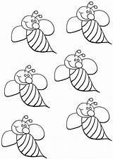 Bumblebee Coloring Pages Insect Print sketch template