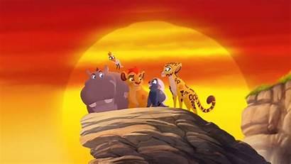 Lion Guard King Wallpapers Roar Disney Return
