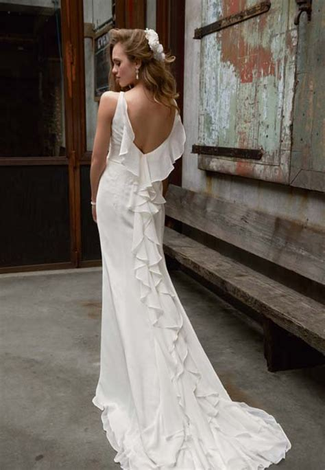 vintage inspired wedding gowns   dress
