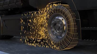 Reifen Continental Temperatur Reifendruck Ueberwacht Ausgestattet Sensor