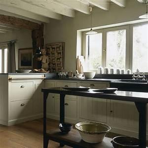 Cuisine En Teck : cuisine sur mesure en rable peint plan de travail en ~ Edinachiropracticcenter.com Idées de Décoration