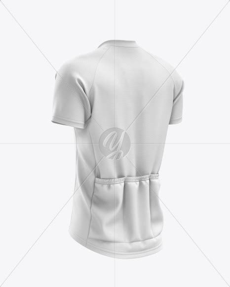 Jersey mockups in just a few clicks. Men's Cross Country Jersey mockup (Back Half Side View) in ...