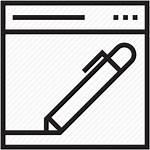 Editor Icon Vectorified Writing