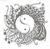 Ying Zentangles Tangle Mandalas Efie Butterflies Tangles sketch template