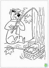 Bear Coloring Yogi Dinokids Popular Close sketch template