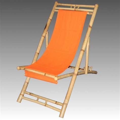 chaise bambou transat chaise de jardin en bambou pliable 135 cm achat