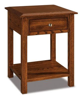 10 Wide Nightstand by Open Nightstand Countryside Amish Furniture