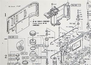 Blog Nikon  Diagrama De Las Partes De Una Nikon F3