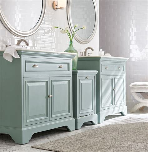 for an style try two single vanities instead - Two Vanities In Bathroom