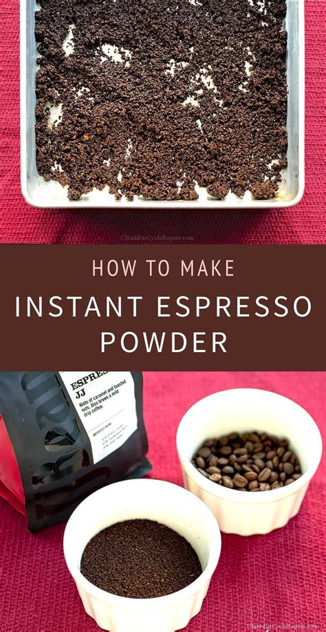 Starbucks sells instant vanilla latte packets, but they are pricey. How to Make: Instant Espresso Powder   Coffee recipes, Espresso powder, Espresso recipes