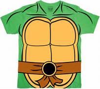 Ninja Turtle Shell Print