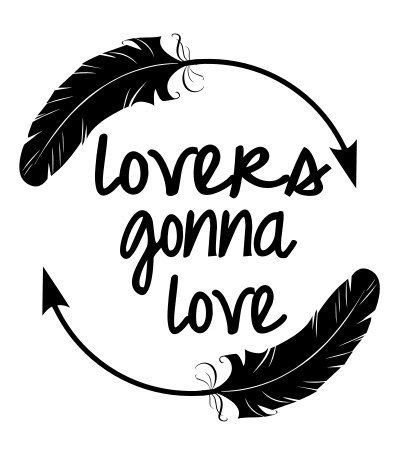 lovers gonna love feather circle svg file  thesvgcorner