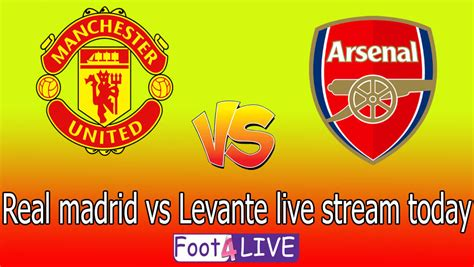 Arsenal vs Manchester United | Football Live Stream