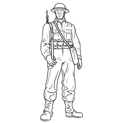 Kleurplaat Soldaten Met Geweer by Kleurplaat Soldaten Met Geweer Leuk Voor Britse