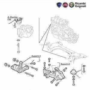 Fiat Palio 1 9d  Engine Mountings