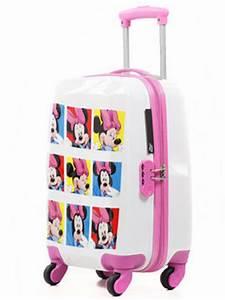 Valise Enfant Fille : valise enfant disney mickey minnie 50 cm blanc 30110 2bl 50 ~ Teatrodelosmanantiales.com Idées de Décoration