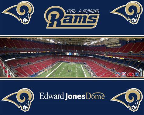 Edward Jones Dome St Louis Rams Wallpaper