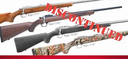 Ruger 77 Bolt Action Rifles Series Discontinuing