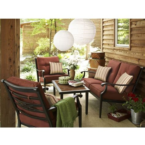 capistrano chat replacement cushion set garden winds