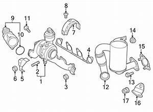 Volkswagen Jetta Exhaust Manifold Gasket  Liter  Wagon