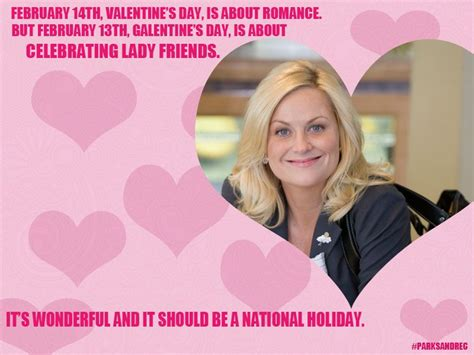Leslie Knope Galentine's Day Card