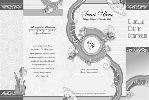 template undangan pernikahan format cdr progmisc