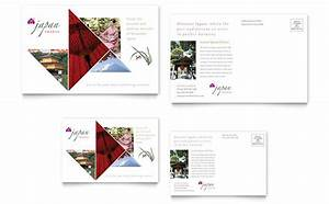 Word Templates For Wedding Invitations Japan Travel Postcard Template Word Publisher