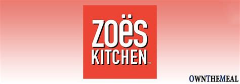 zoes kitchen menu prices  meal items food details