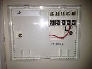 Honeywell Wifi Thermostat Rth9580wf  U2014 Heating Help  The Wall