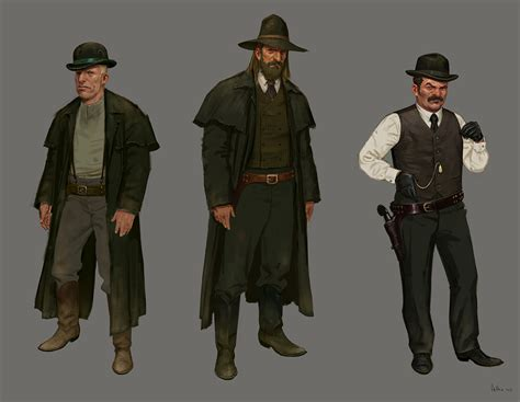 The Dusty Concept Art Of Red Dead Redemption Kotaku