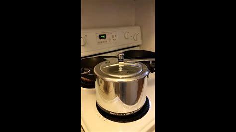 cooker pressure working