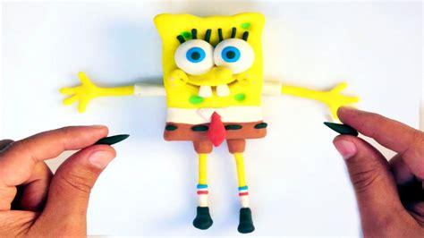 Spongebob Play doh STOP MOTION video Animación de Bob