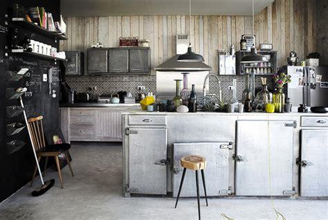 une desserte de cuisine cuisine au style industriel les 8 détails qui changent tout