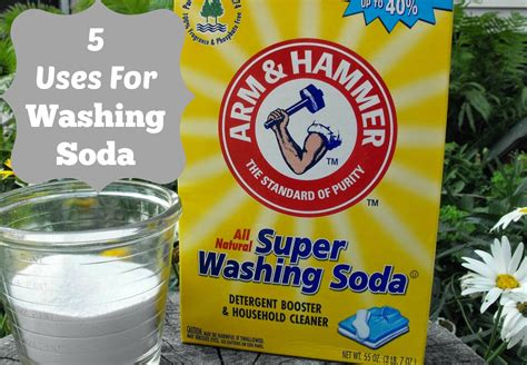 washing soda 5 cleaning uses for washing soda blogher