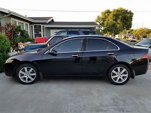 Sold  Black 2005 Acura Tsx  6 Speed Manual