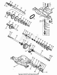 Poulan Pp21r38ma Tractor Parts Diagram For Dana Transaxle