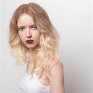 Tie And Dye Blond Cendré : jolie coiffure cheveux ondul s femme cheveux longs sur ~ Melissatoandfro.com Idées de Décoration