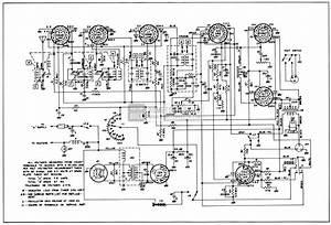1950 Buick Radio Circuit Schematic-selectronic Radio