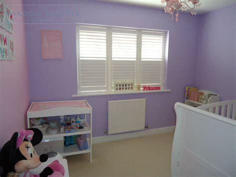 Full Height Shutters For Nursery & Child's Bedroom In