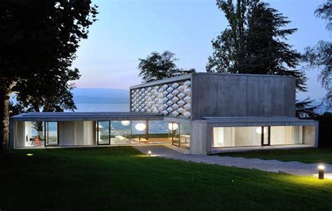 Moderne Häuser Am See sichtbeton villa am see sch 214 ner wohnen