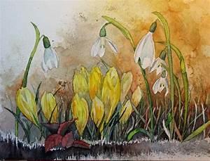 Aquarell Malen Blumen : blumen bl ten in aquarell bilder aquarelle vom meer ~ Articles-book.com Haus und Dekorationen