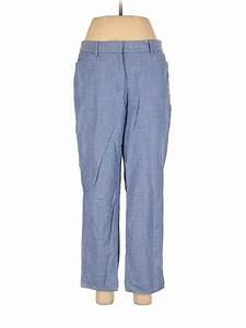Talbots Women Blue Dress Pants 6 Ebay